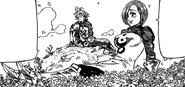 Meliodas and Liz during the peaceful days of Danafor