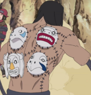 Kakuzu with masks.png