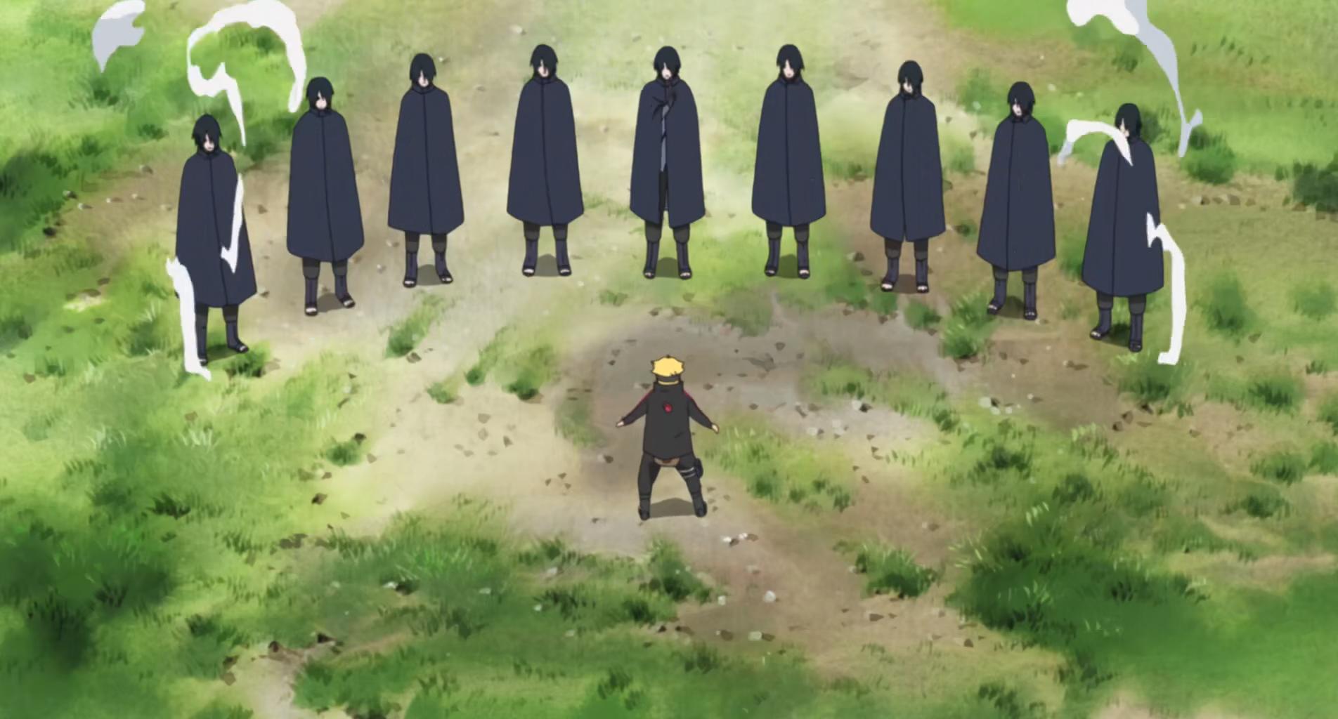 6 paths of pain - Technique de sasuke ...