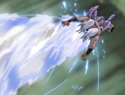 Kiba and Akamaru's Dual wolf fang