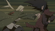 Tsunade overwhelms Madara