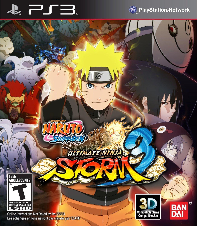 Kết quả hình ảnh cho NARUTO SHIPPUDEN Ultimate Ninja STORM 3 cover ps3