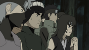 Kurenai and the young protesters