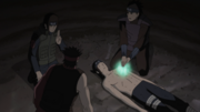 Kiri healing the wounded