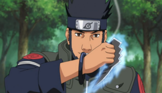 Asuma With His Chakra Blades