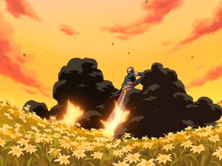 Flower Ninja Art Many Releasing Flowers