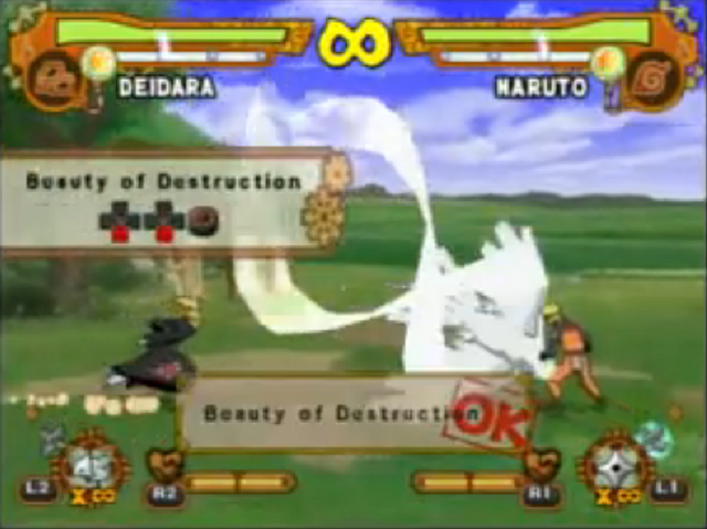File:Naruto ultimate ninja 5 DEIDARA BEAUTY DESTRUCTION 1.png
