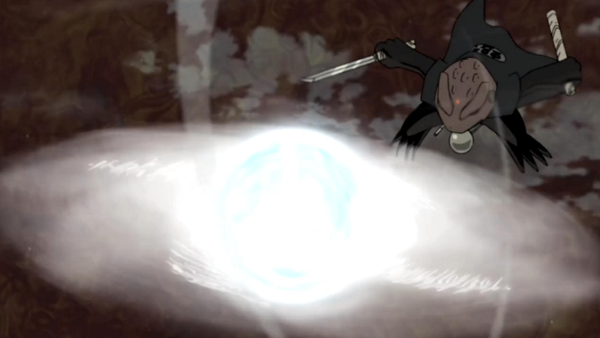 Wind Release Ultra Ball Rasenshuriken Narutopedia Fandom Ed By Wikia