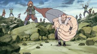 Chōji Captures Jirōbō