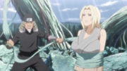 Tsunade Caught