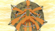 Kurama sealed within Kushina.png