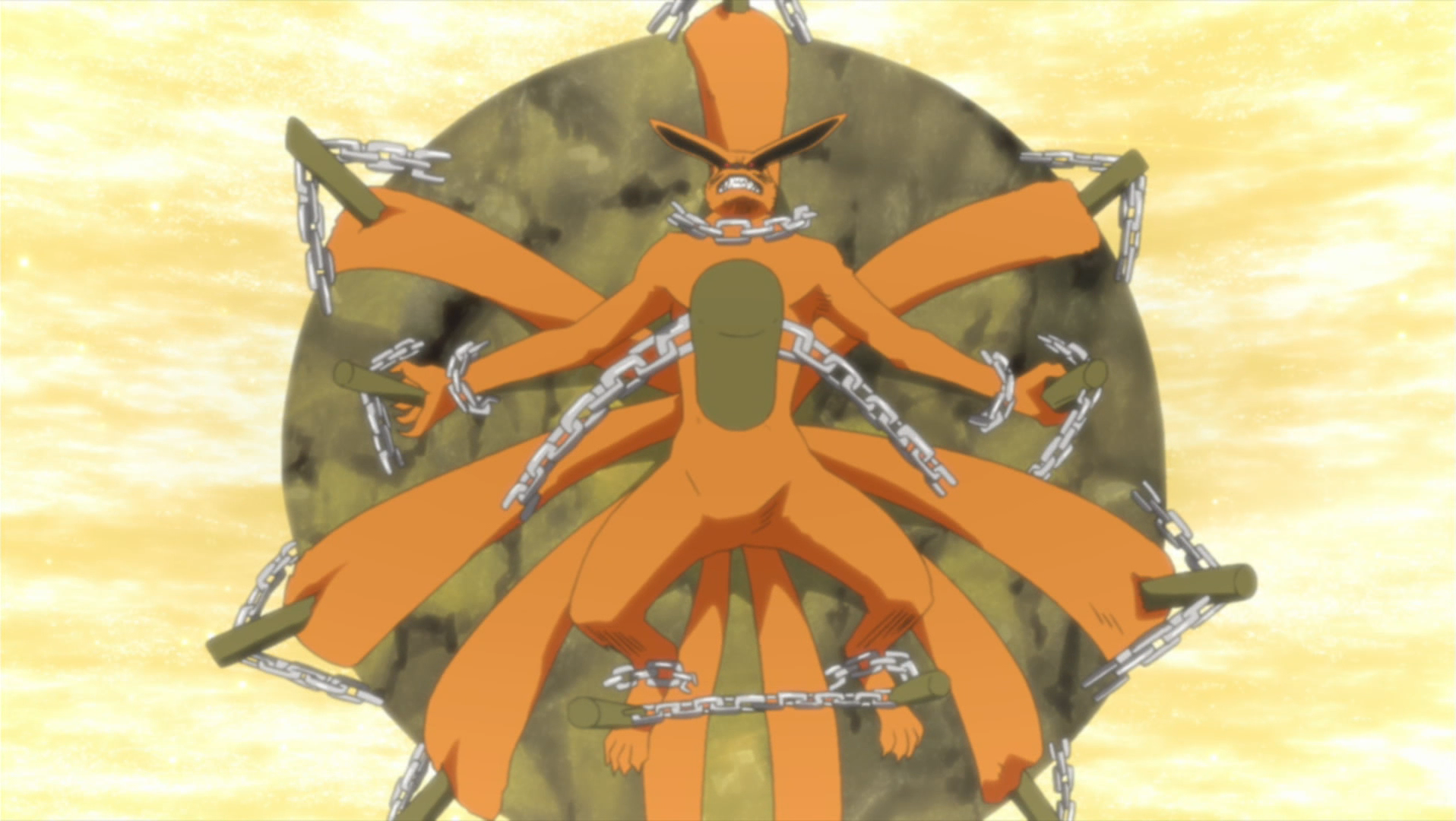 Nine Tails and Naruto the Jinchūriki | We Heart It | naruto ...