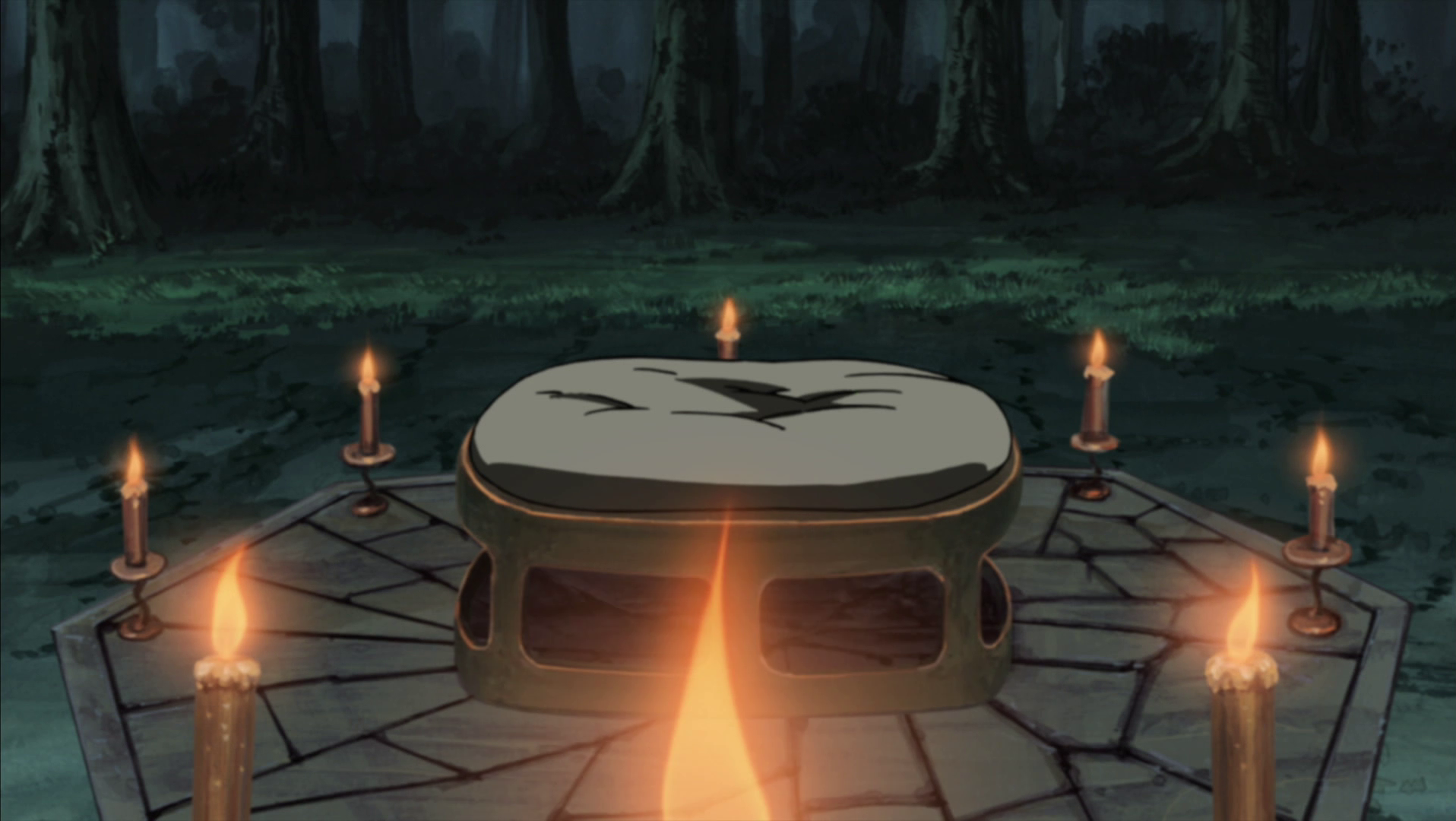 eight trigrams sealing style