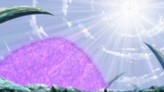 Sasuke shielding Team 7