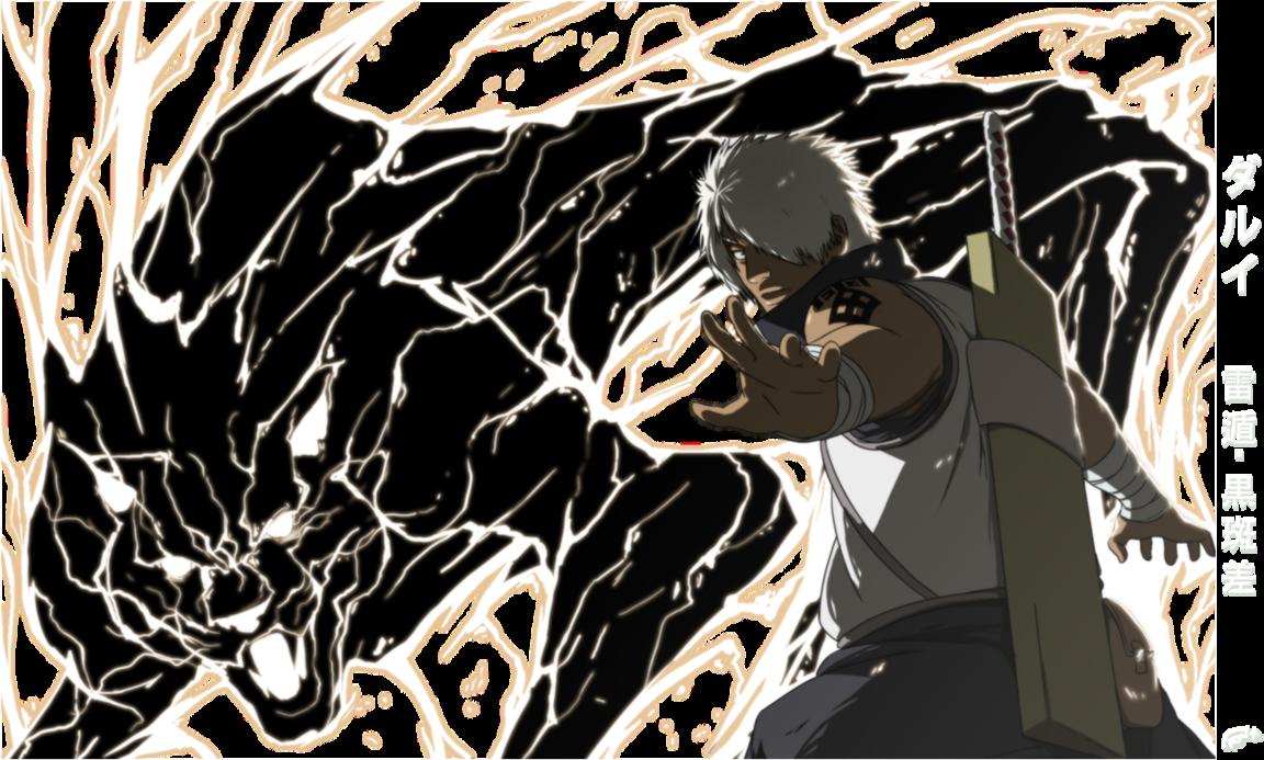 Fr34K | Darui with the BLACK LIGHTNING! | - Naruto Shippuuden ...