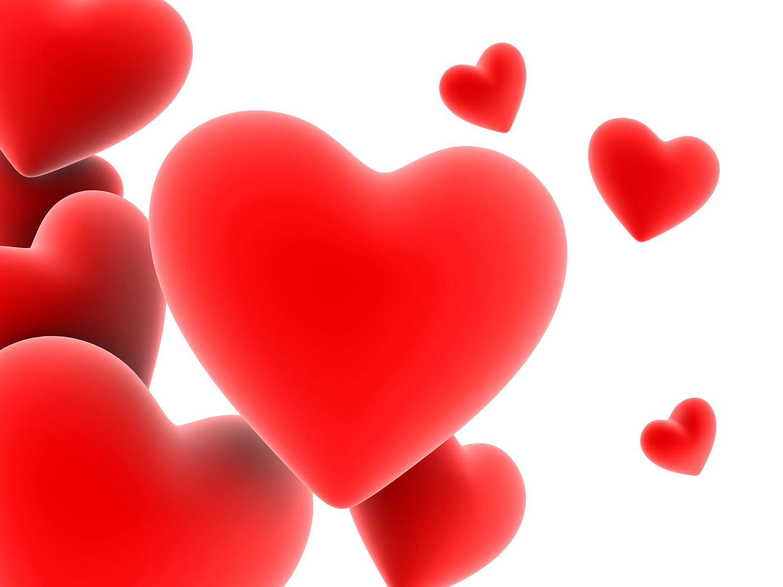 Red Heart Love Wallpaper: 1269850209 1600x1200 Floating-red-heart-wallpaper