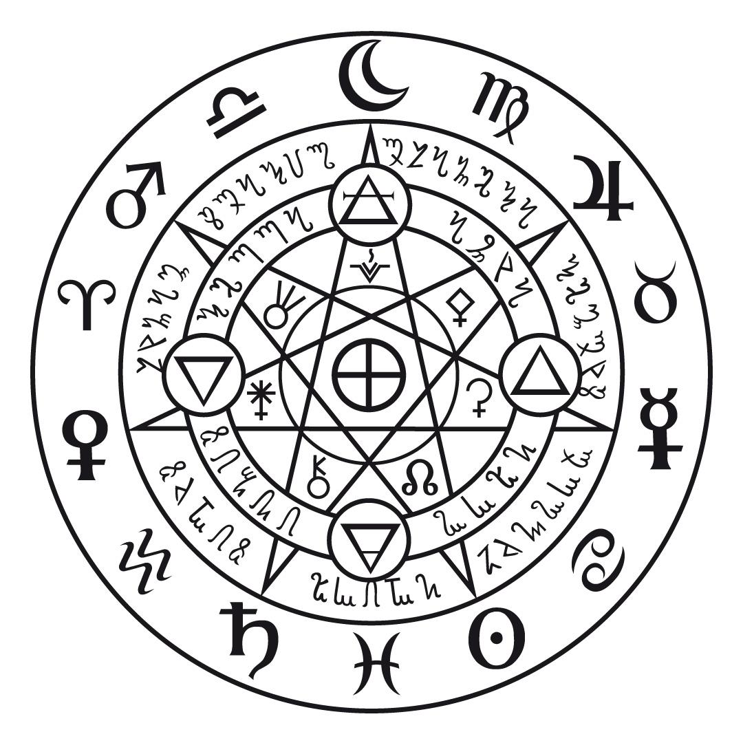 how to create a magic circle