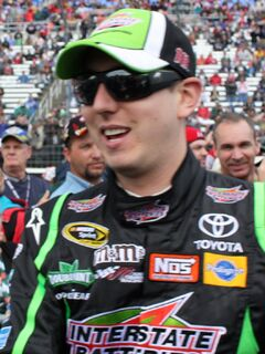 Kyle Busch on April 19, 2010 (cropped)