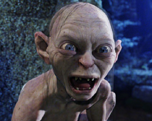 No higher resolution available Smeagol Ring