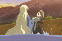 Sasafune tries to drown natsume