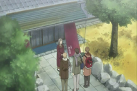 Natsume and friends leaving home