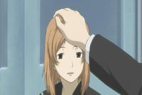 Natsume and taki at school taki head