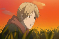 Natsume search among the grass