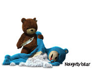 Naughty Bear 3 by Southfede