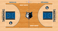 Minnesota Timberwolves court logo