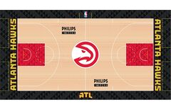 Atlanta Hawks court design 2015-16