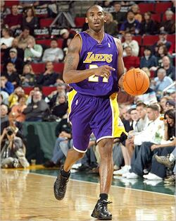 Kobe Bryant Lakers Road