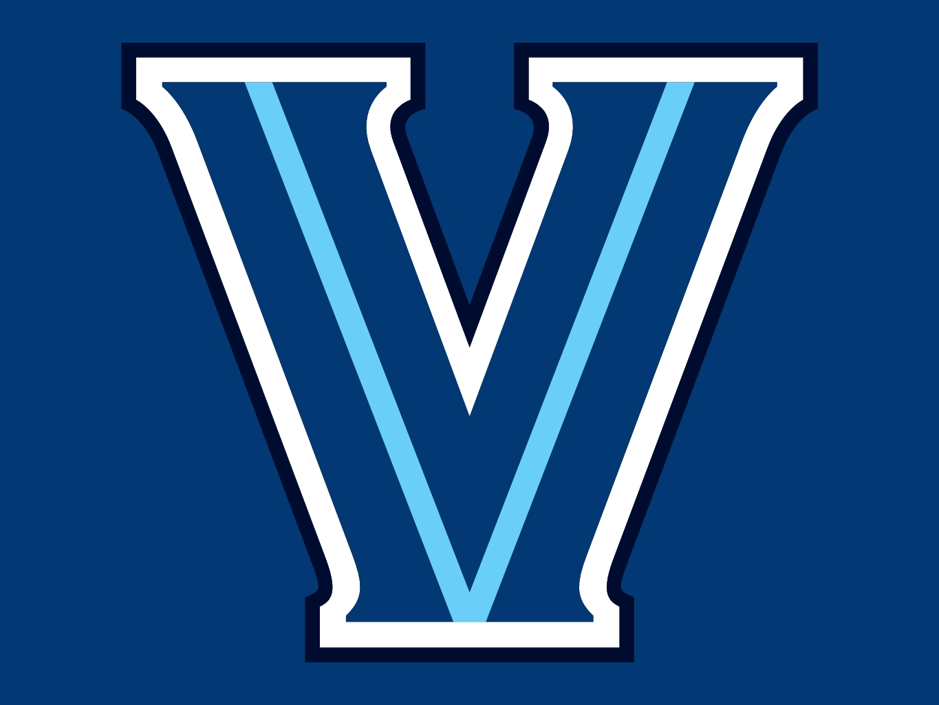 Image result for villanova logo blue