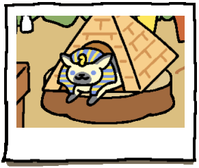 ramses the great neko atsume wiki fandom powered by wikia. Black Bedroom Furniture Sets. Home Design Ideas