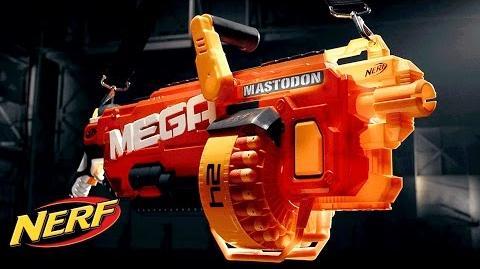 NERF - 'Mega Mastodon Blaster' Official T.V