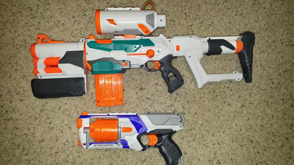 Modulus Tri-Strike pump grip