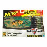 Ammo bag camo suction darts