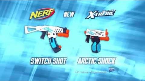 Nerf Super Soaker Arctic Shock & Switch Shot - X-Treme Blasters Extremalne Wyrzutnie na Wodę
