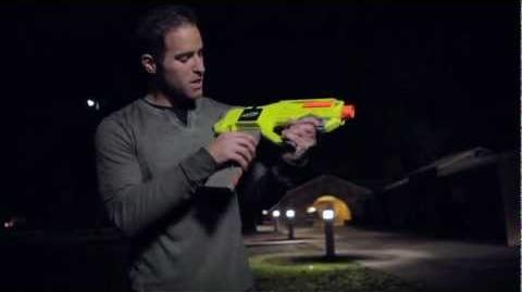 Nerf N-Strike Rayven Blaster with Firefly Tech