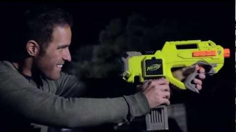 Nerf Light It Up Inside Blast N-Strike Rayven