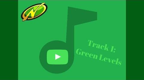 Nerf Jr. Foam Blaster, Track 1 Green Levels