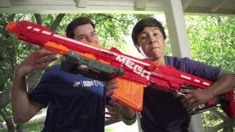NERF N-Strike Elite Mega Centurion TV Commercial
