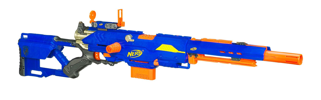 GERMAN]]NERF Longshot Strikefire Review - YouTube