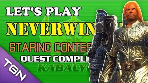 Let's Play Neverwinter - Staring Contest Quest Complete