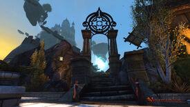 Protector's Enclave - Moonstone Mask Teleporter
