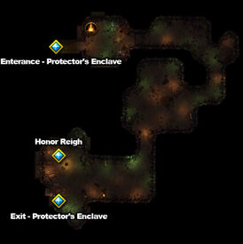 Map Ruined Tunnels