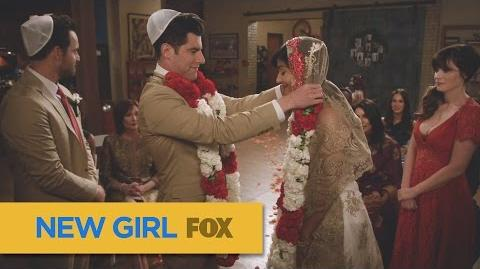 """NEW GIRL Perfection from """"Landing Gear"""" FOX BROADCASTING"""