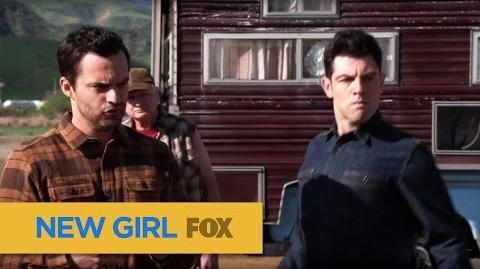 "NEW GIRL Nick & Schmidt from ""Road Trip"" FOX BROADCASTING"