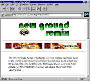 Newgrounds 1995