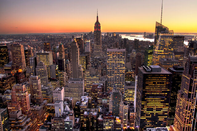 File:Manhattan from top of the rock, hdr.jpg