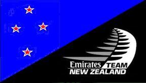 New Zealand Team Emirates Flag - Heath Woodcock